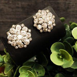 J CREW crystal cluster earrings 🌟 NWT 🌟